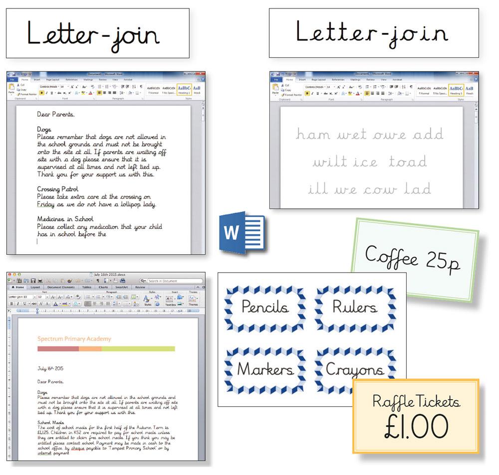 Letter-join Worksheets