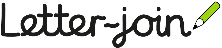 Letter-join  Cursive handwriting resource for school and home